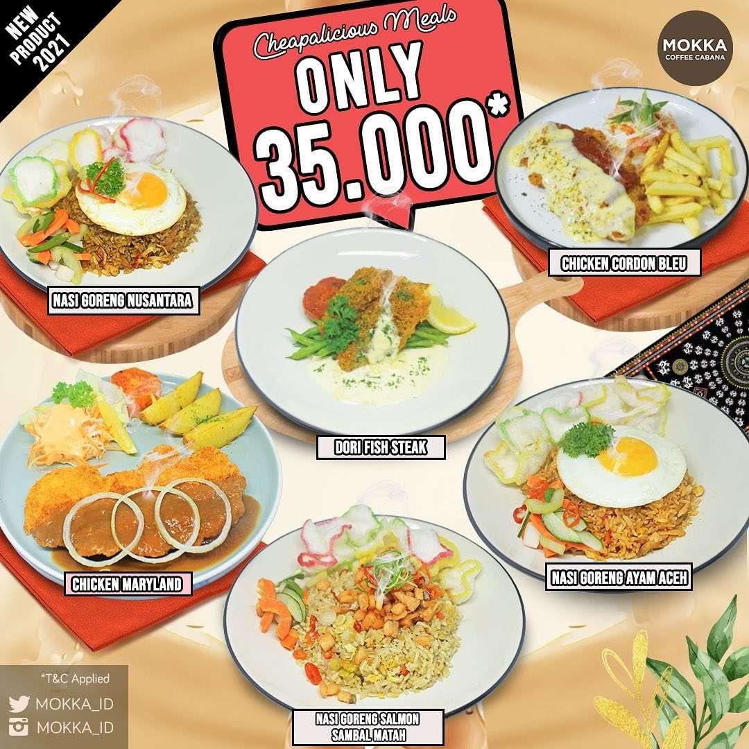 Diskon Mokka Coffee Cabana Cheapalicious Meals Only For Rp. 35.000