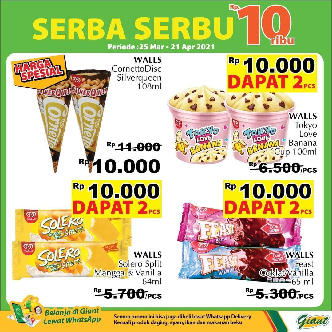 Diskon Katalog Promo Giant Serba Serbu 10.000!! Periode 25 Maret - 21 April 2021