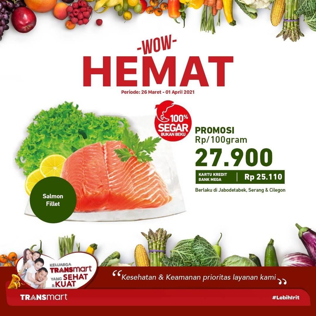 Promo diskon Katalog Promo Transmart WOW HEMAT Periode 26 Maret - 1 April 2021