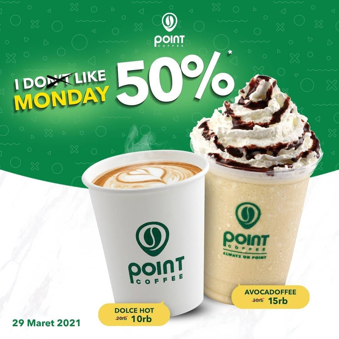 Diskon Point Coffee Discount 50% Off Untuk Variant Frappe