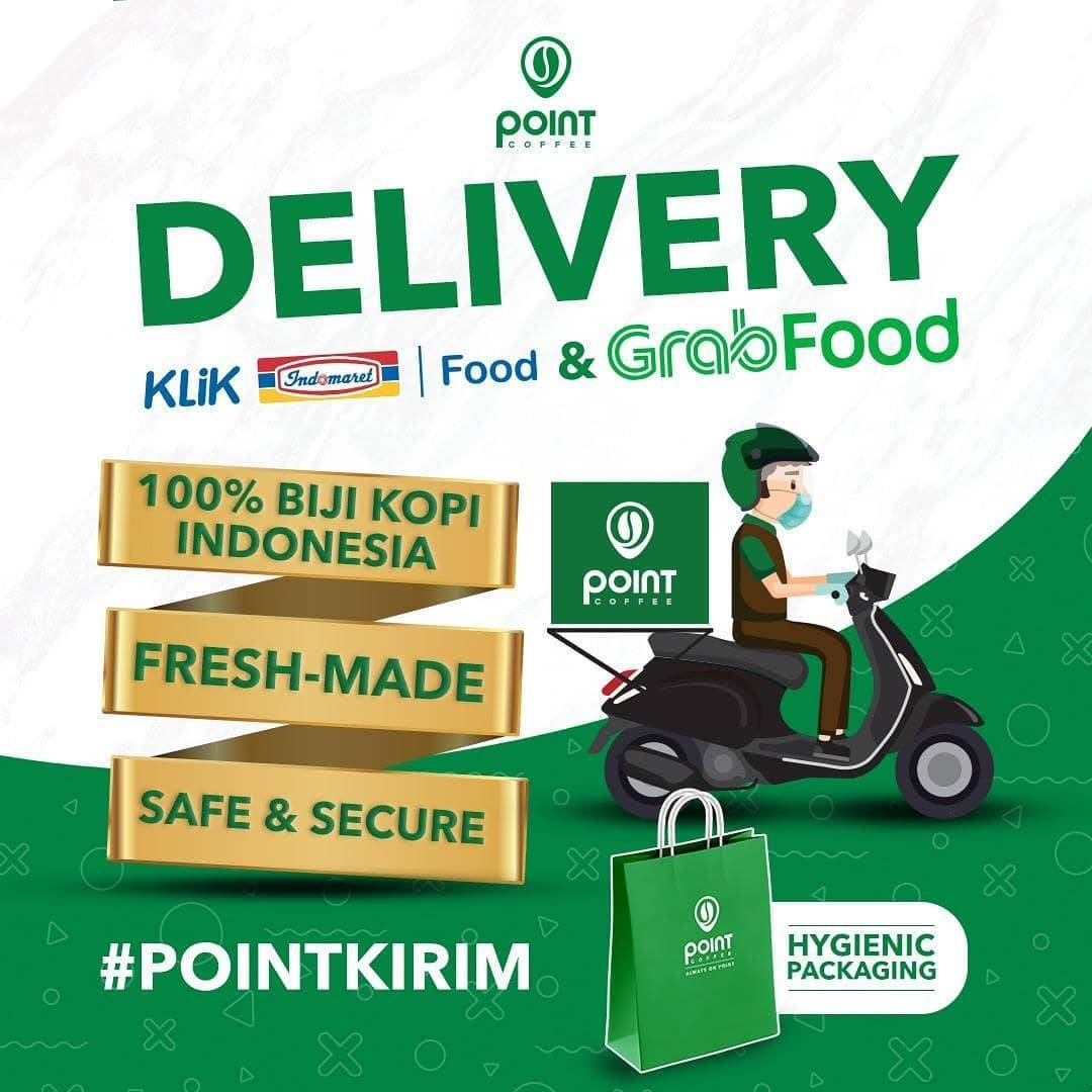 Promo diskon Point Coffee Discount 50% Off Untuk Variant Frappe