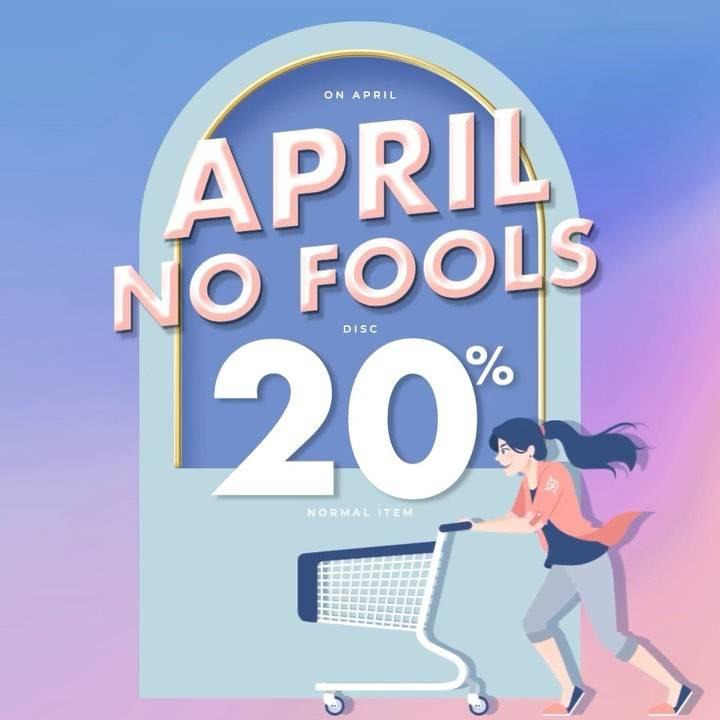 Diskon Planet Surf April No Fools Discount 20% Off On Normal Item