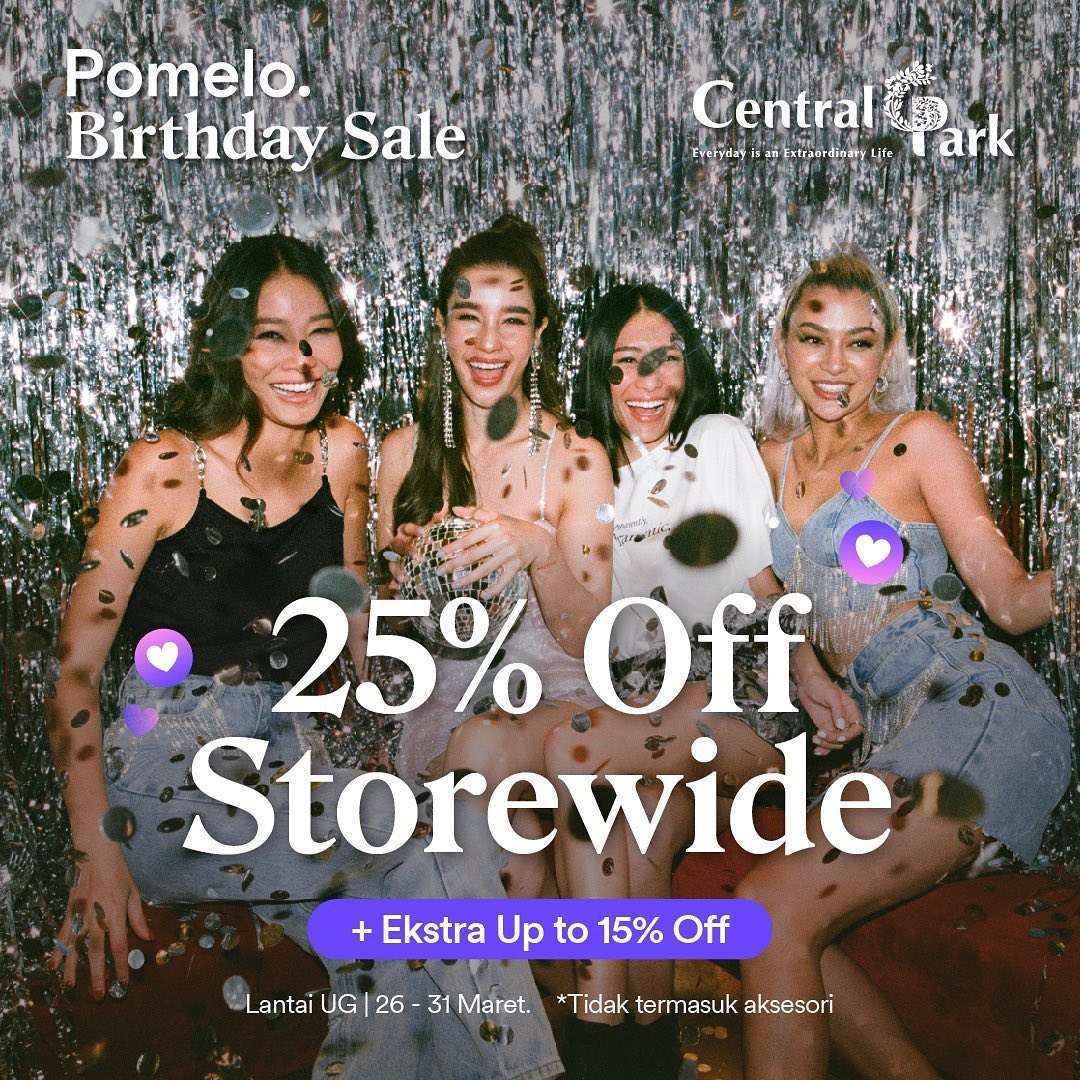 Diskon Pomelo Diskon 25% Storewide + Extra Up To 15% Off