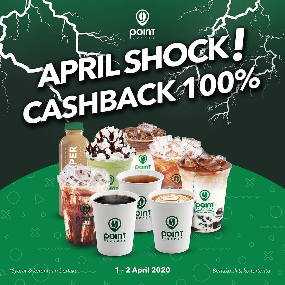 Indomaret Point Coffee Promo April Shock! Cashback 100% Setiap Pembelian Minuman Pilihan