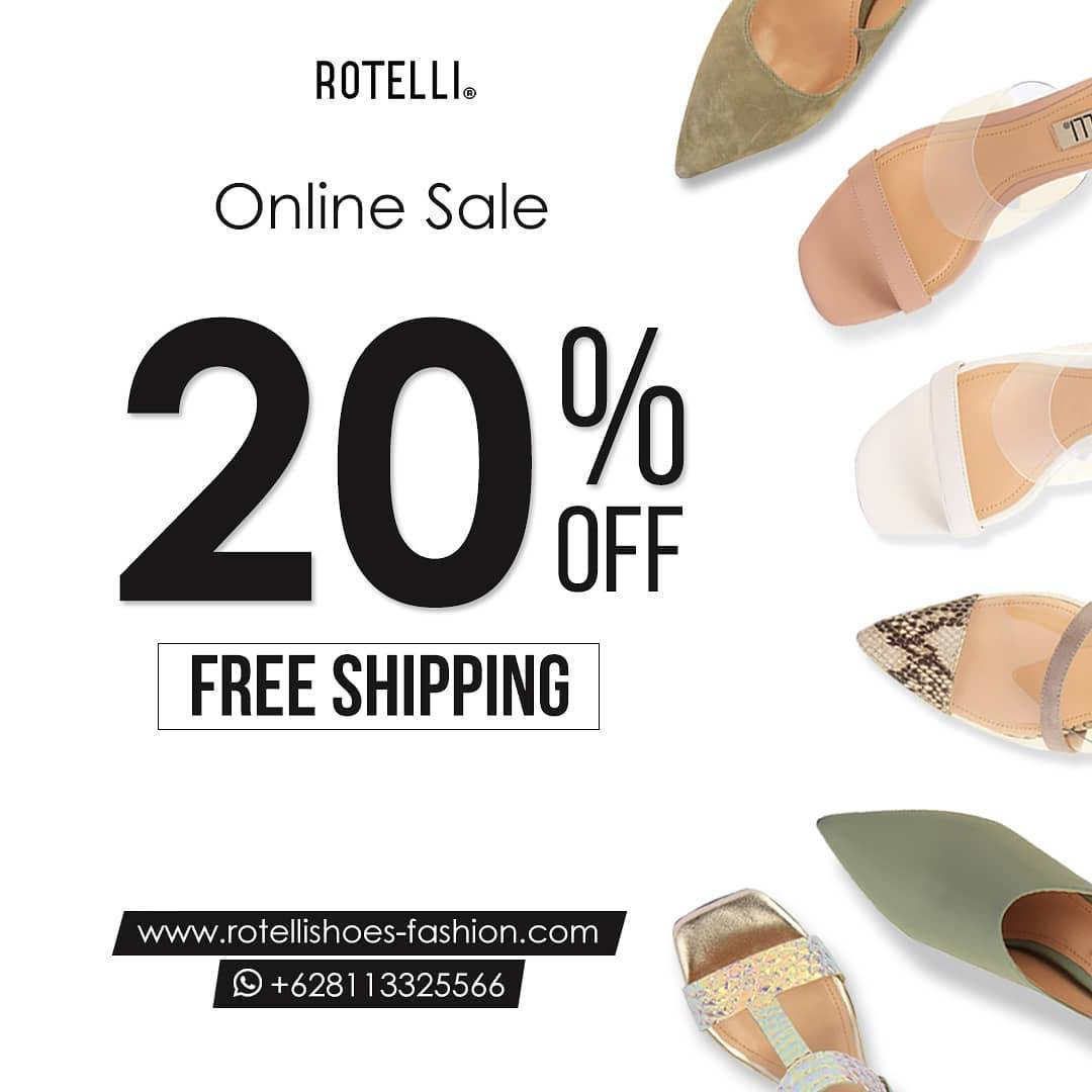 Rotelli Promo Online Sale Get Discount 20% Off + Free Shipping