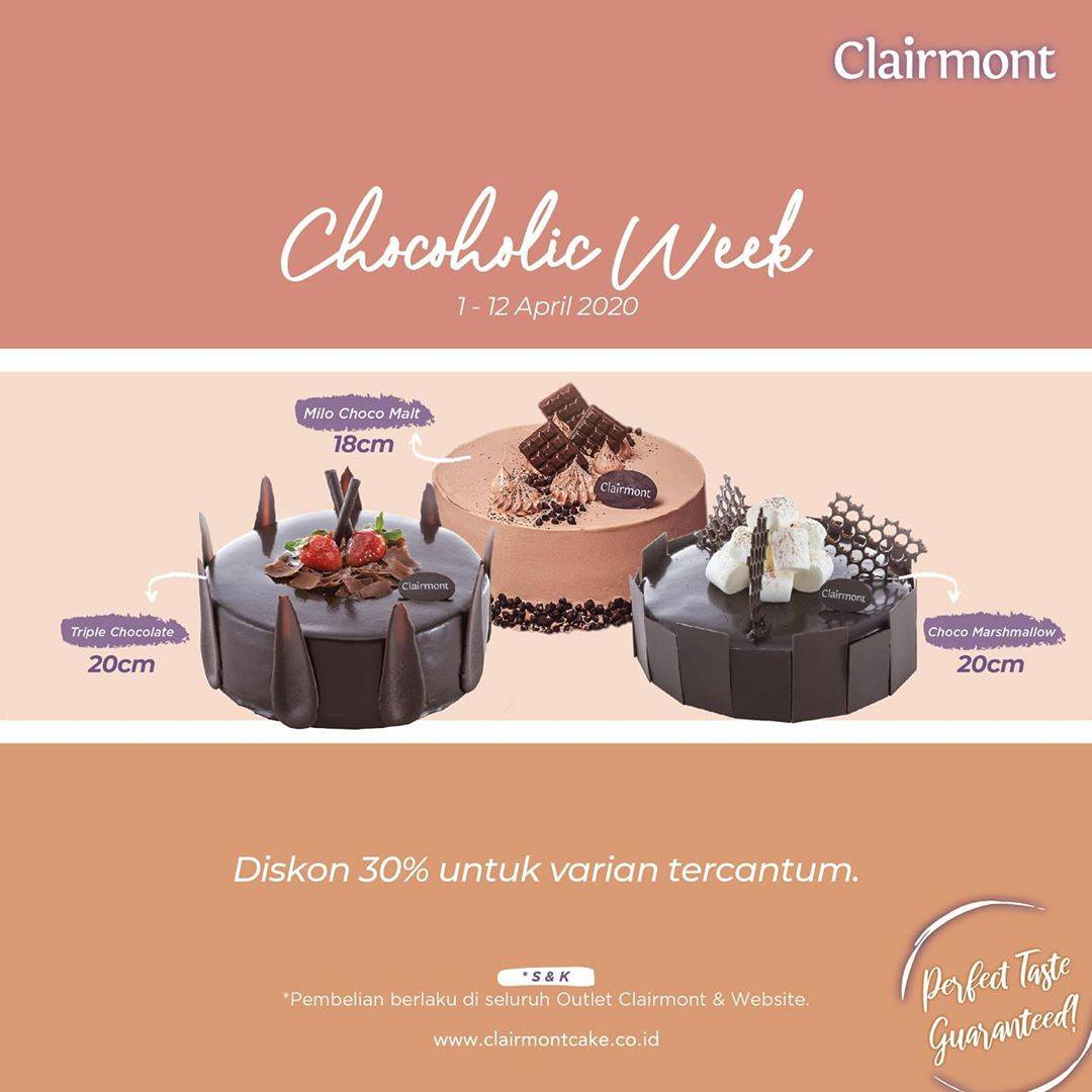 Clairmont Cakes Prom Discount 30% Off For Selected Variant