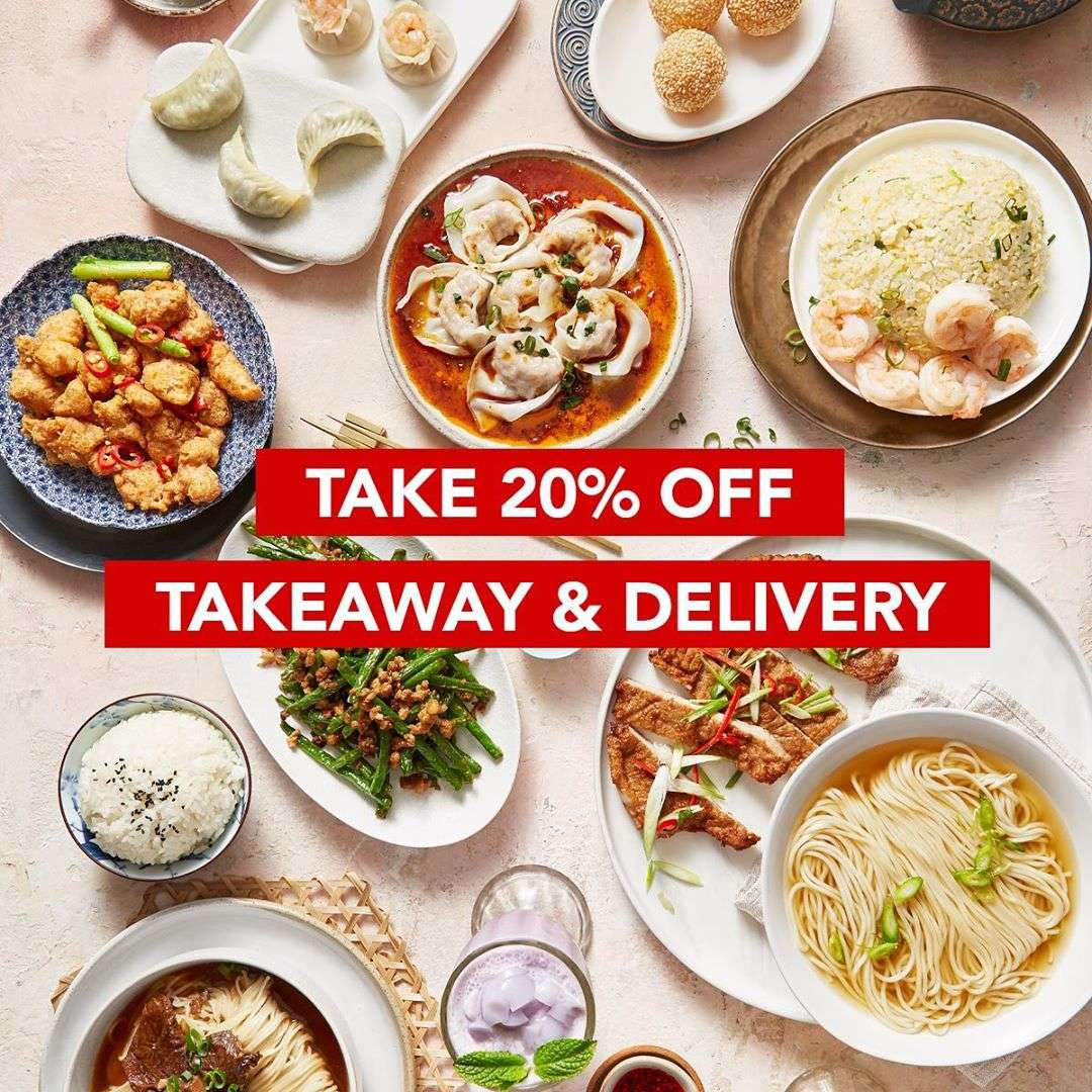 Diskon Din Tai Fung Promo Get Discount 20% Off For All Menu Thru Delivery/TakeAway