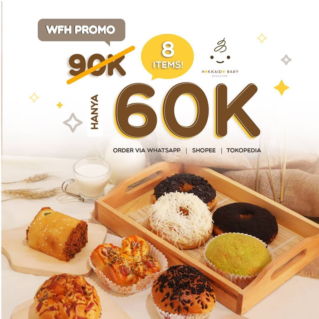 Hokkaido Baby Promo Work From Home, Get 8 Items Only Rp. 60.000