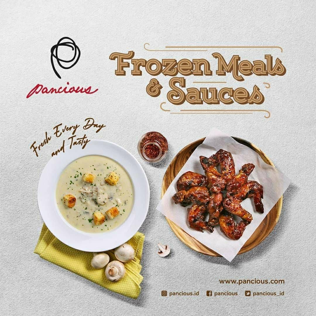 Diskon Pancious Promo Frozen Meals, Sauces, Drinks Harga Mulai Dari Rp. 25.000