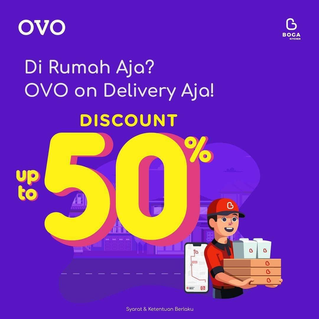 Boga Group Diskon 50% Untuk Pemesanan Via Delivery dan Pembayaran Menggunakan OVO