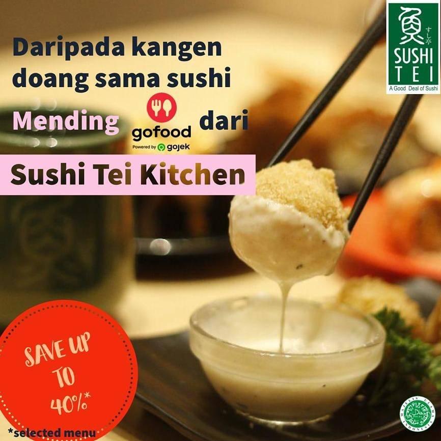 Diskon Sushi Tei Promo Diskon Hingga 40% Pemesanan Melalui Aplikasi GoFood