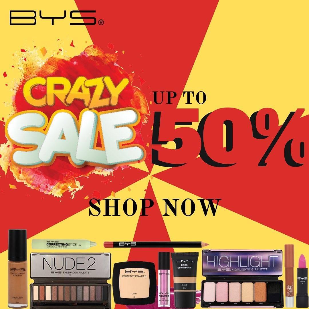 Metro Department Store Promo Crazy Sale, Discount Hingga 50% Untuk Produk Kosmetik BYS