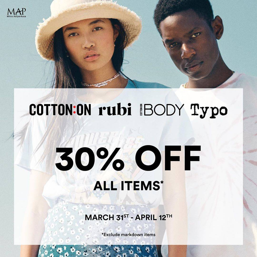 MAP Club Promo Discount 30% Off For Selected Brands