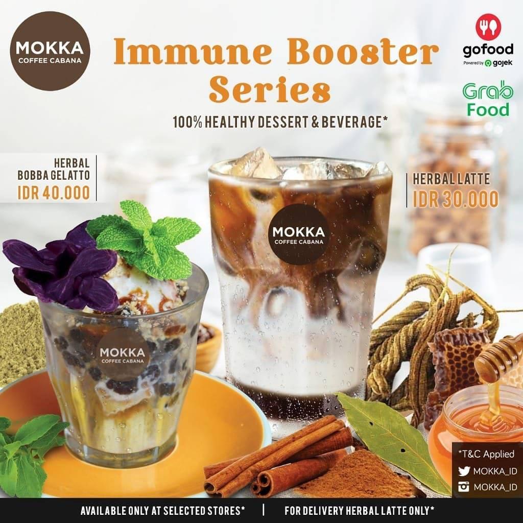 Mokka Coffee Cabana Promo Harga Spesial Immune Booster Series Mulai Dari Rp. 30.000