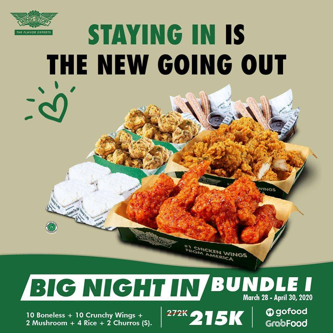 Wingstop Promo Special Value Of Big Night In Bundle Start From IDR 215.000