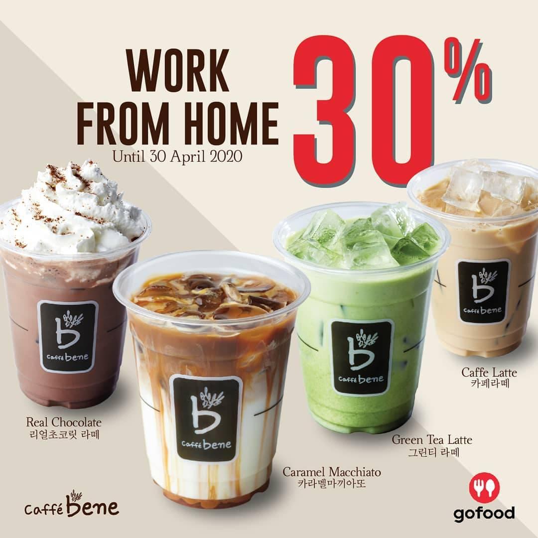 Caffe Bene Promo Diskon 30% Untuk Menu - Menu Favorit Dengan Pemesanan Via GoFood