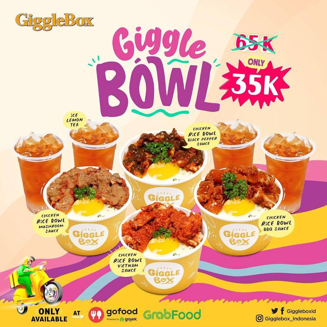 GiggleBox Promo Giggle Bowl Hanya Rp. 35.000