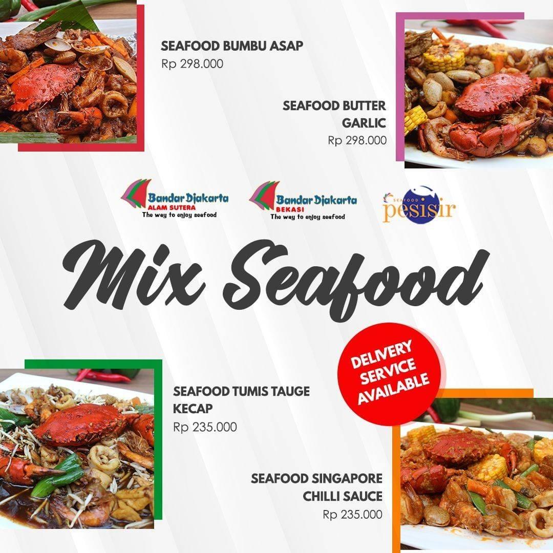 Diskon Bandar Djakarta Promo Mix Seafood Harga Mulai Dari Rp. 235.000