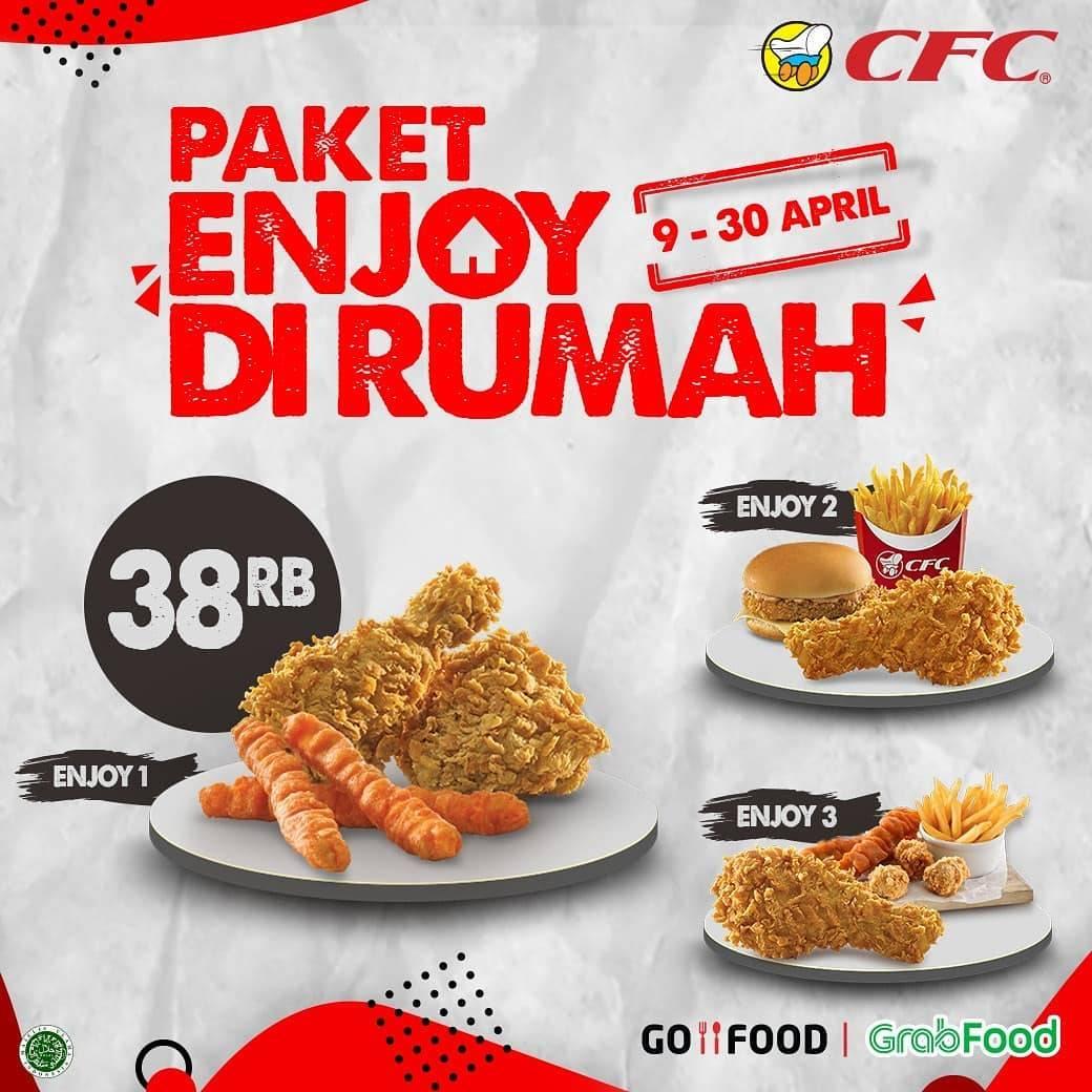 CFC Promo Paket Enjoy Di Rumah Hanya Rp. 38.000