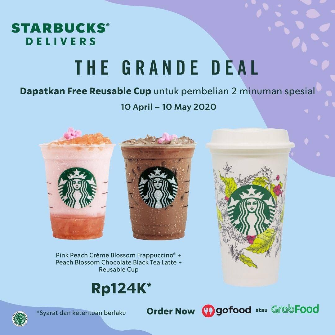 Starbucks Promo The Grande Deal Dengan Harga Rp. 124.000