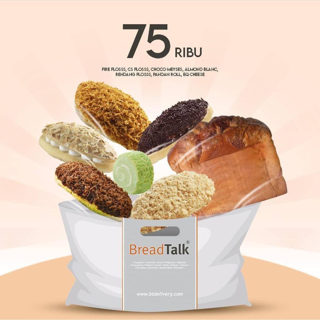 Diskon Breadtalk Promo Beli 6 Roti & 1 Toast EQ Cheese Favorit Cuma Rp. 75.000