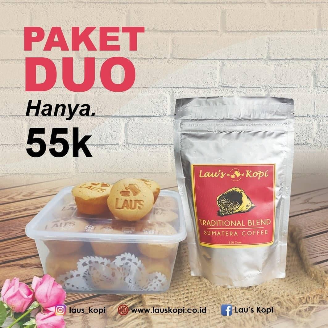 Diskon Lau's Kopi Promo Paket Duo Hanya Rp. 55.000