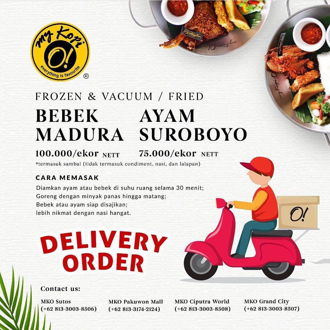 Diskon My Kopi O Promo Frozen Bebek & Ayam Harga Mulai Dari Rp. 75.000/ Ekor