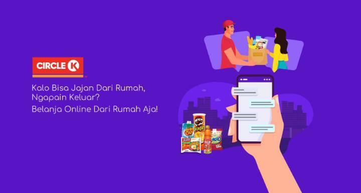 Diskon OVO Promo Cashback 20% Setiap Belanja Online Di Circle K Dengan Transaksi Pakai OVO