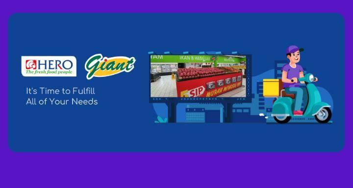 Diskon OVO Promo Cashback 15% Setiap Belanja Online Di Giant & Hero Dengan Transaksi Pakai OVO