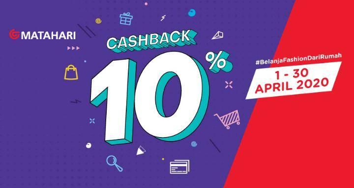 Diskon OVO Promo Cashback 10% Setiap Belanja Di Matahari.Com