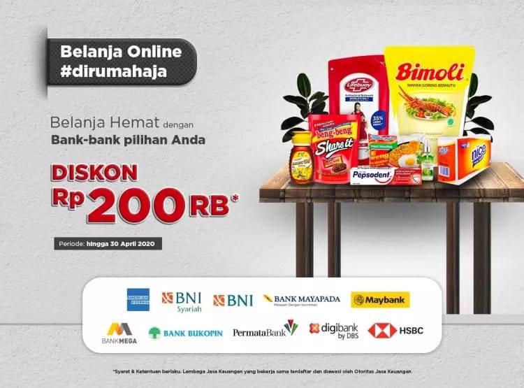 Diskon JD.ID Promo Belanja Hemat Dengan Bank-Bank Pilihan, Diskon Hingga Rp. 200.000
