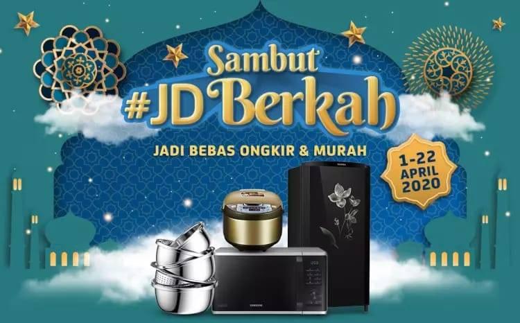 Diskon JD.ID Promo JD Berkah, Belanja Dengan Harga Murah + Gratis Ongkir