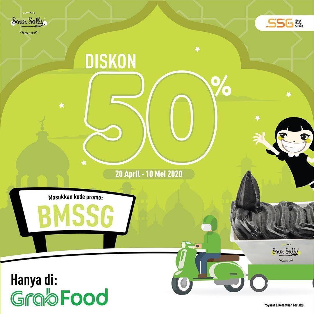Diskon Sour Sally Promo Diskon 50% Untuk Pemesanan Via GrabFood
