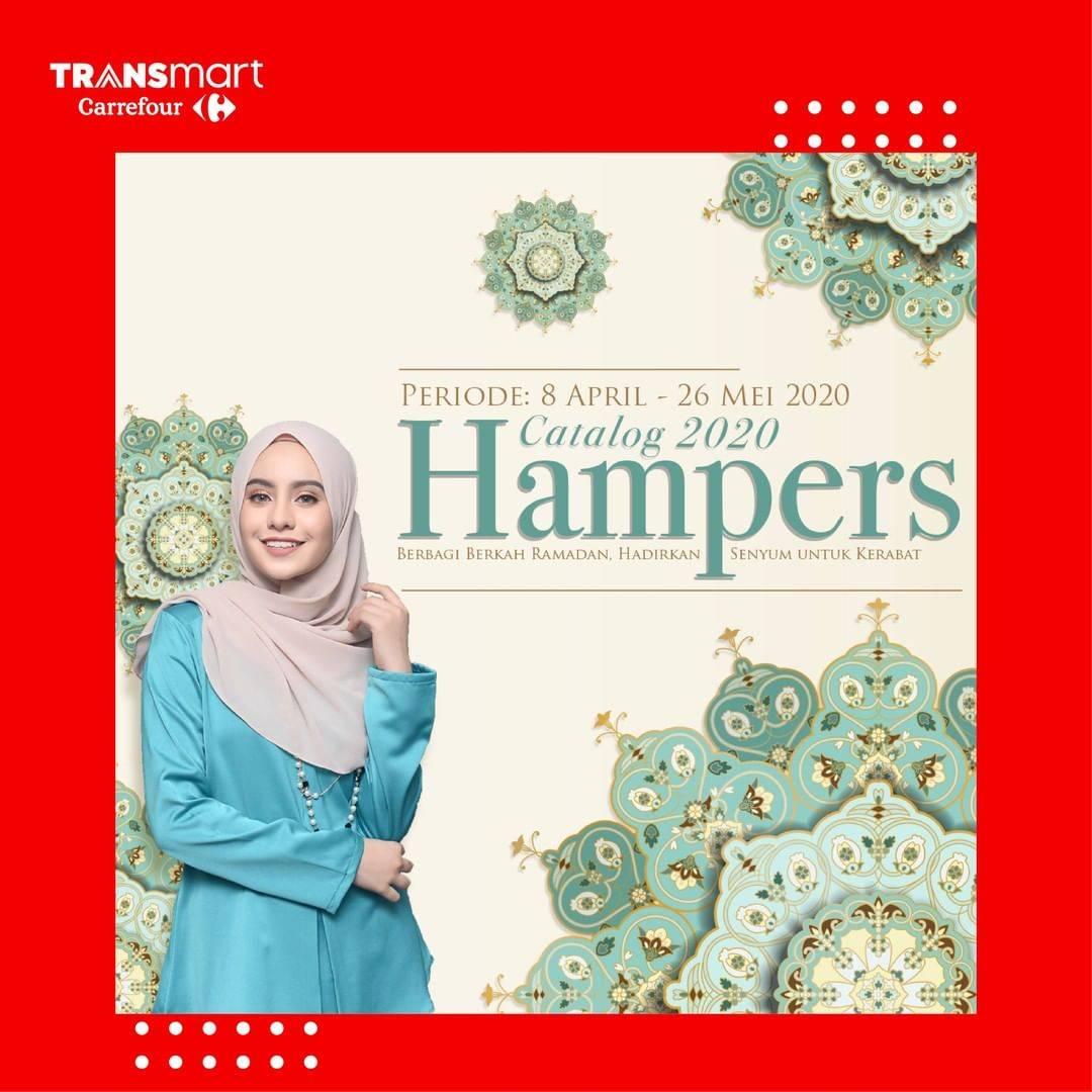 Diskon Transmart Carrefour Promo Katalog Hampers Ramadan Periode 8 April - 26 Mei 2020