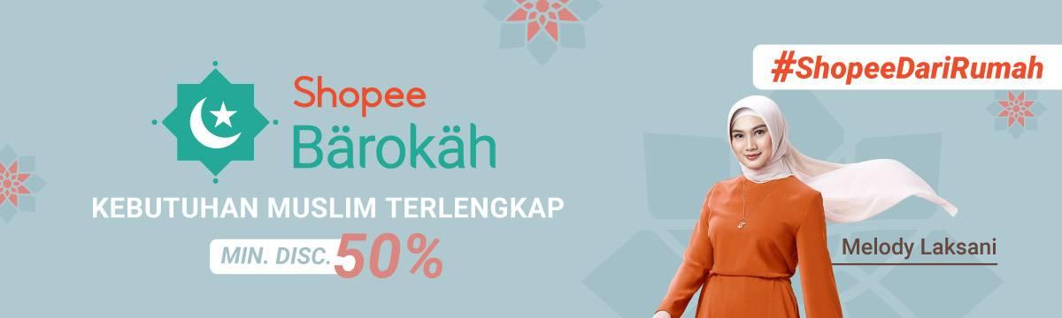 Diskon Shopee Promo Shopee Barokah, Dapatkan Diskon Minimal 50% Untuk Kebutuhan Muslim