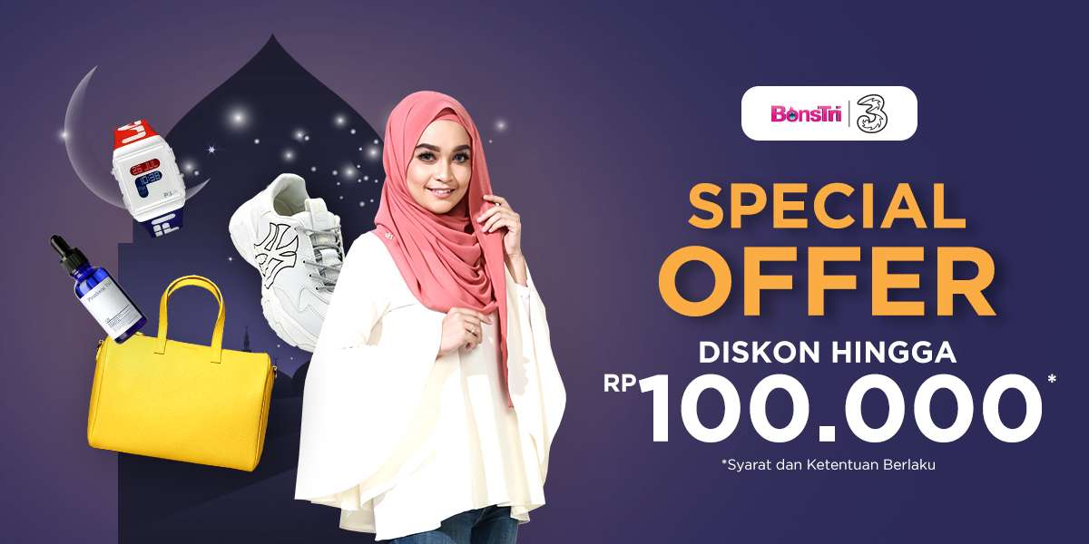 Diskon iLotte.com Promo Bonstri Ramadhan, Discount Hingga Rp. 100.000