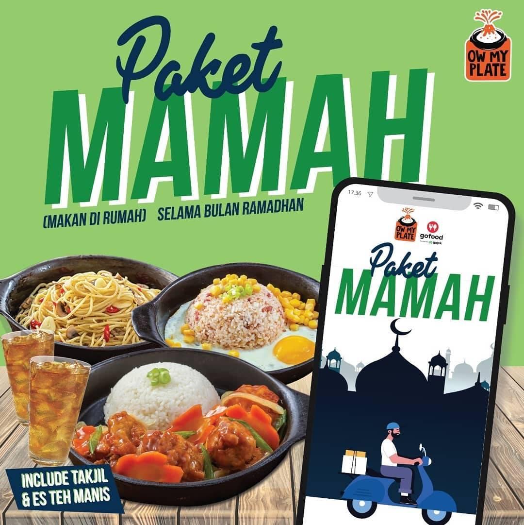 Diskon Ow My Plate Promo Harga Spesial Paket Mamah Mulai Dari Rp. 35.916 Pemesanan Via Aplikasi GoFood
