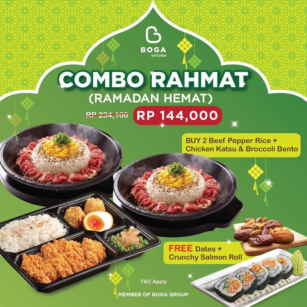 Diskon Boga Group Promo Harga Spesial Paket Combo Rahmat Cuma Rp. 144.000
