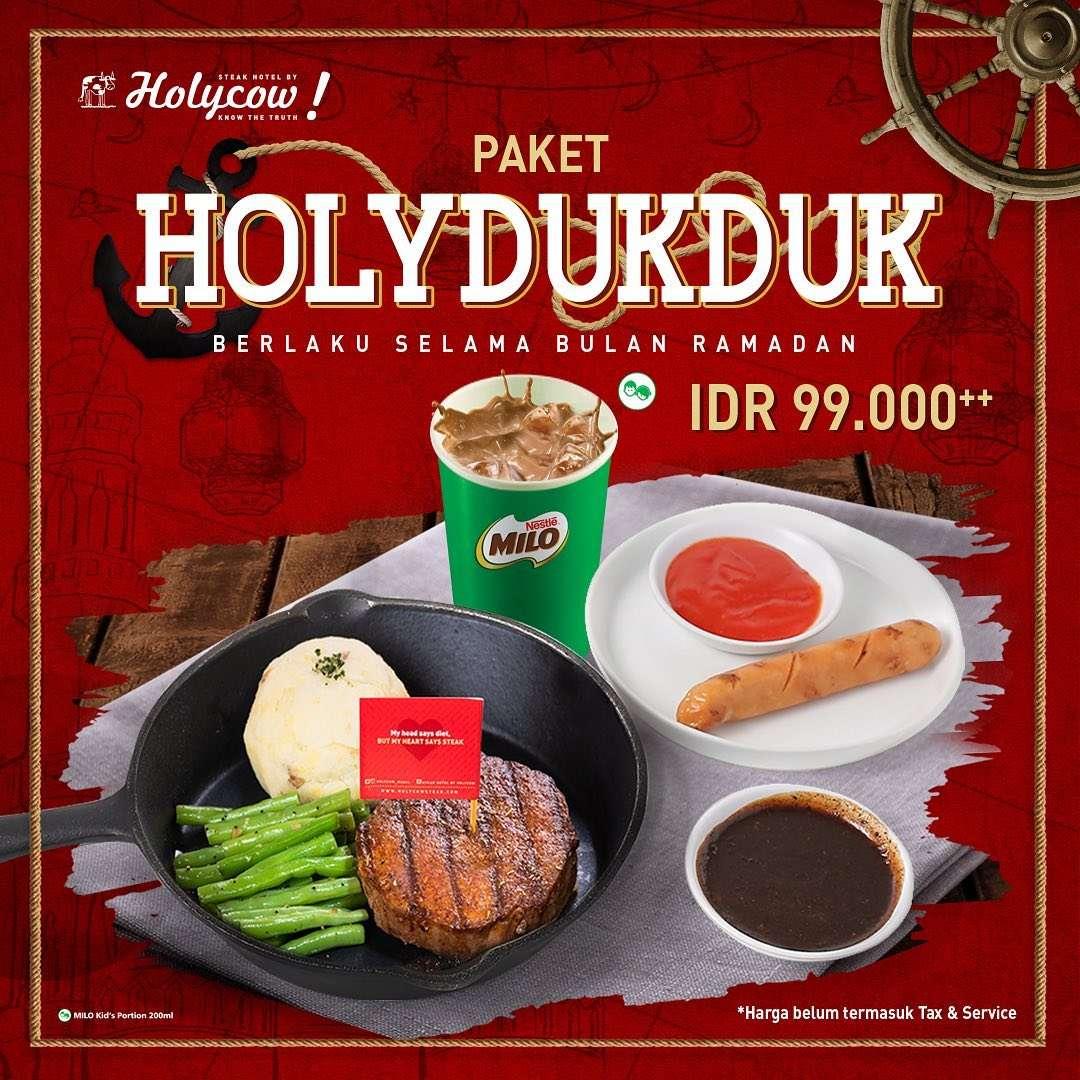 Diskon HolyCow Promo Harga Spesial Paket HolyDukDuk Cuma Rp. 99.000++