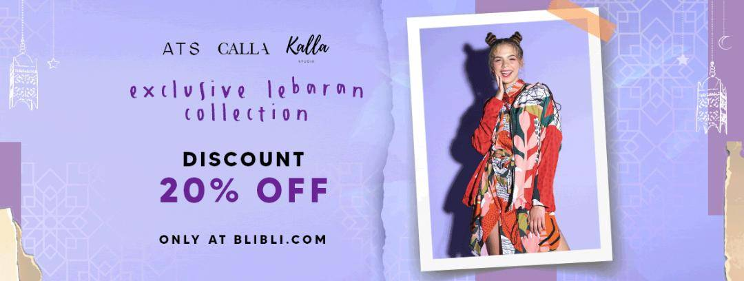 Diskon Blibli.com Promo Discount 20% Off For Exclusive Lebaran Collection
