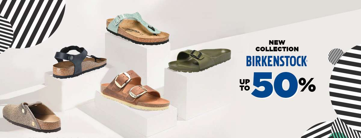 Diskon Blibli.com Promo Discount Up To 50% Off For New Collection Of BirkenStock