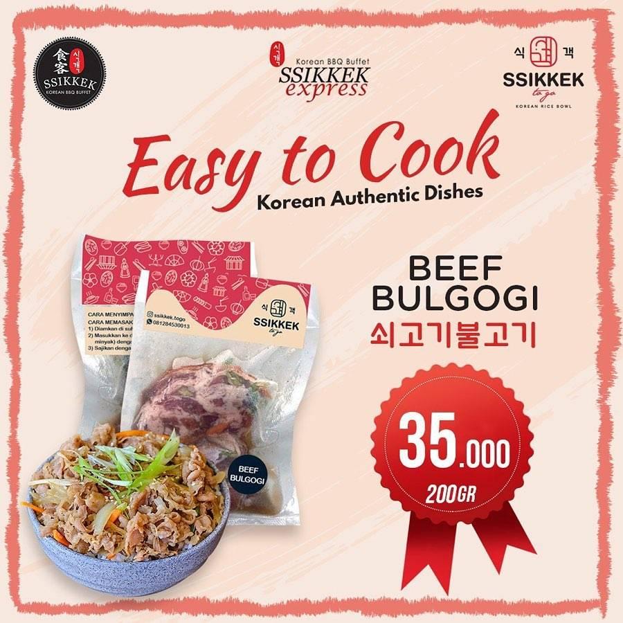 Diskon Ssikek Promo Frozen Korean Dishes With Price Start From Rp. 25.000 For Order Via Tokopedia