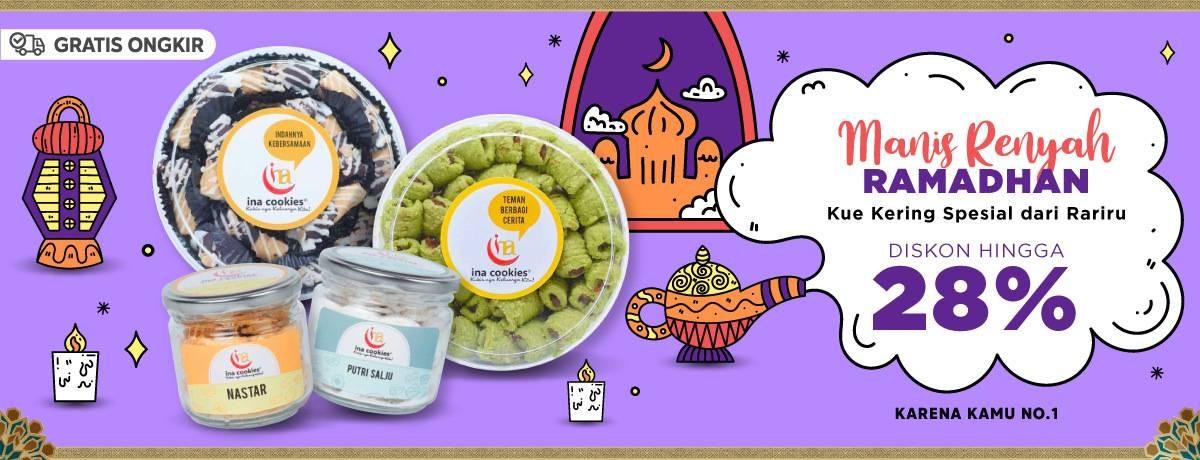 Diskon Blibli.com Promo Diskon Hingga 28% Untuk kue Kering Spesial Dari Rariru