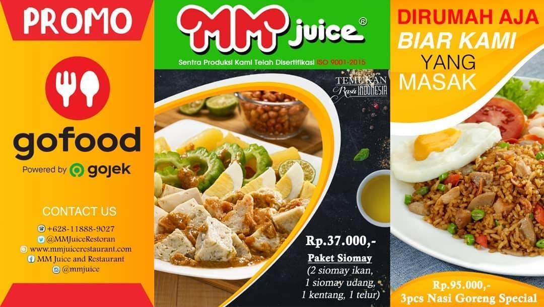 Diskon MM Juice Promo Nasi Goreng Spesial & Paket Siomay Dengan Harga Mulai Dari Rp. 37.000