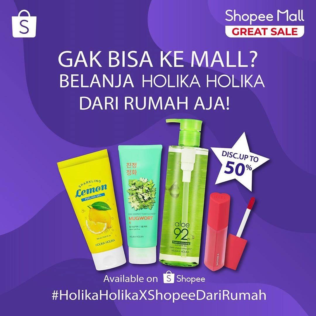 Diskon Holika Holika Promo Diskon Hingga 50% Setiap Belanja Di Holika-Holika Shopee Mall