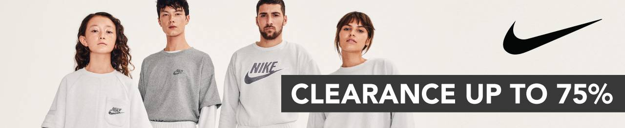 Diskon Blibli.com Promo Nike Clearance Up To 75%
