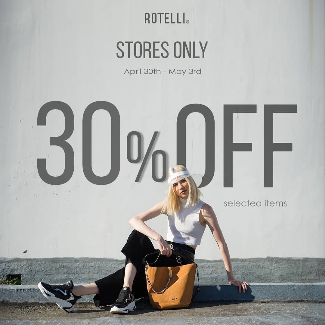 Diskon Rotelli Promo Discount 30% Off Of Selected Items
