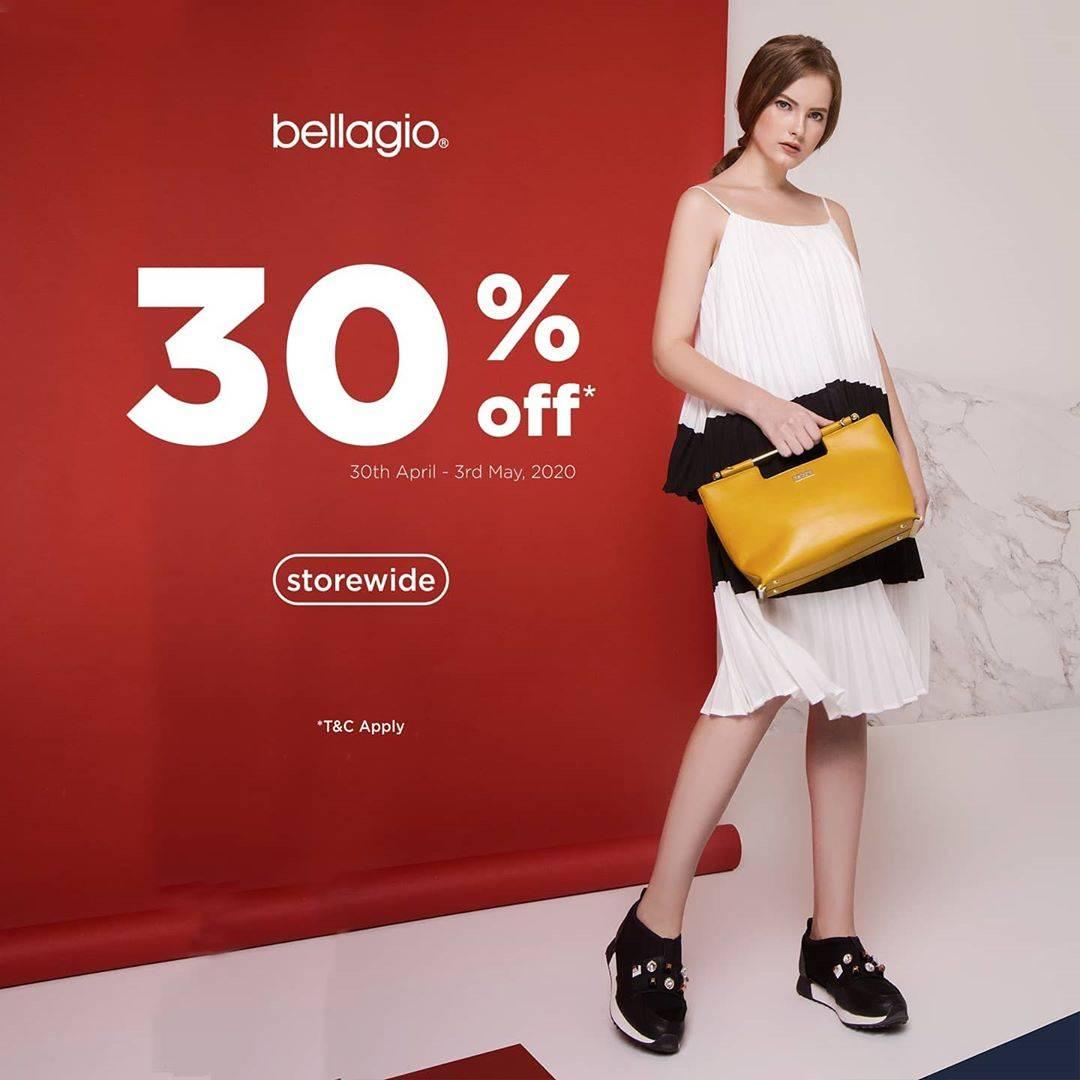 Diskon Bellagio Discount 30% Off For Regular Priced Items