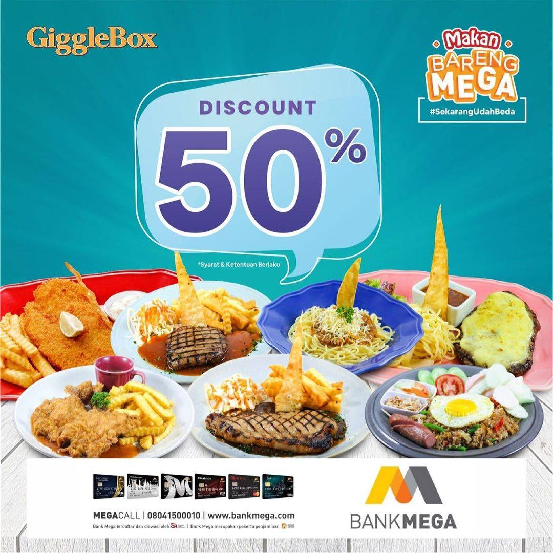 Diskon Giggle Box Discount 50% Off