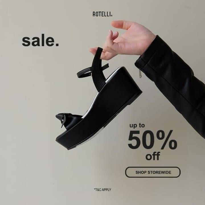Diskon Rotelli Get Discount 50% Off